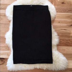 Black Apt. 9 Pencil Skirt Size Large